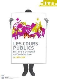 cours publics 2007/08 : programme et inscriptions - Cité de l ...