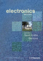The complete issue (pdf format/32 pages) - ST Electronics