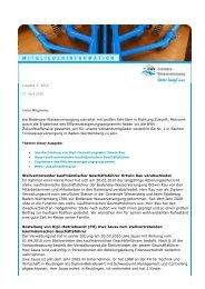 Mitgliederrundschreiben 3/2010 - Zweckverband Bodensee ...