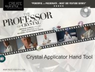 Crystal Applicator Hand Tool - Create Your Style