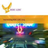 RIEC LIEC Jaarverslag 2013