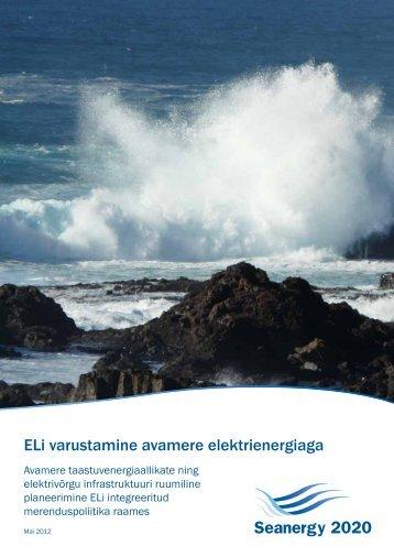 ELi varustamine avamere elektrienergiaga - Seanergy 2020