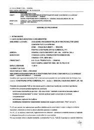 04 PUZ Calea Bucuresti 14A - Primaria Craiova