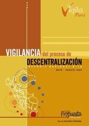 Vigilancia del Proceso de Descentralización - Grupo Propuesta ...