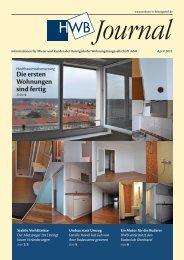 finden Sie das HWB Journal April 2012 - h e n n i g s d o r f . d e