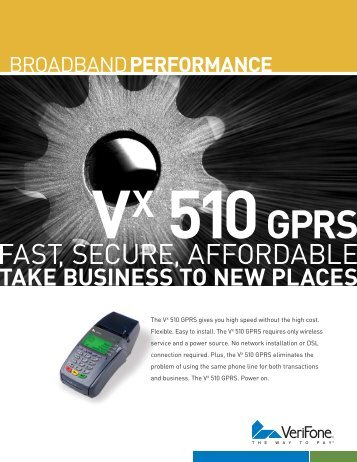 VX 510 GPRS