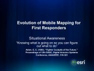 Evolution of Mobile Mapping for First Responders - Firewise