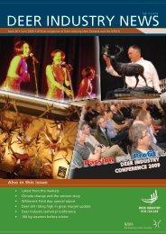 Deer Industry News #36 June 2009 - Deer Industry New Zealand