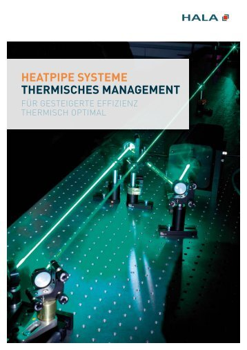 heatpipe systeme thermisches management - HALA Contec GmbH ...