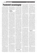 Nr. 24 (289) 2008 m. gruodžio 20 d. - Krikščionių bendrija TIKĖJIMO ... - Page 6