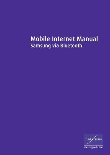 via Bluetooth - support - Belgacom