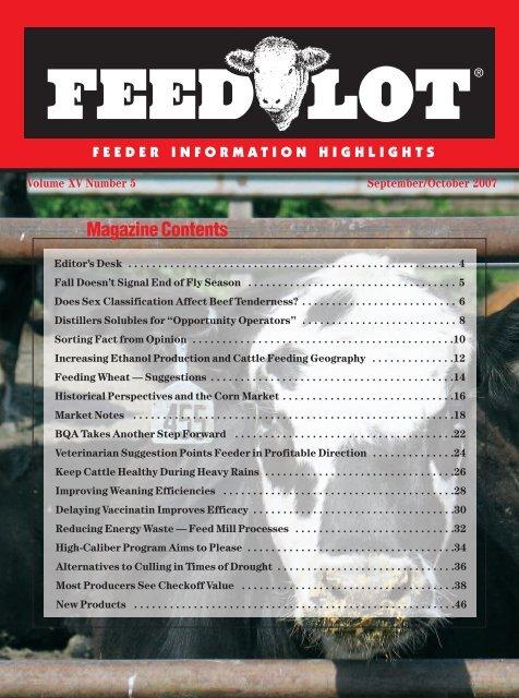 September/October - Feedlot Magazine