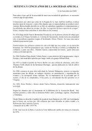 SETENTA Y CINCO AOS DE LA SOCIEDAD APICOLA - Apinews