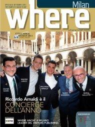 CONCIERGE DELL'ANNO - Where Milan