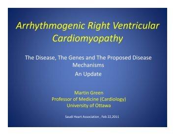 Arrhythmogenic Right Ventricular Arrhythmogenic Right Ventricular ...