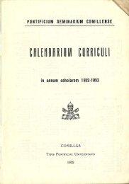 Page 1 in annum scholarem 1952-1953 COMILLAS TYPIS ...