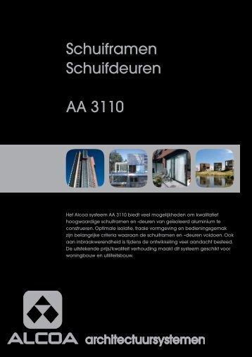 Brochure Schuifpui AA 3110 - Stedebouw en Architectuur