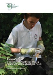 Growing Together: Gardening with Children and Young People with ...