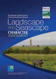 (AONB) Landscape Character Assessments. - Solway Coast