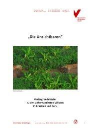"""""""Die Unsichtbaren"""" - Gesellschaft für bedrohte Völker"""