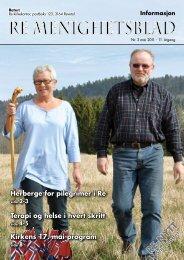 Re menighetsblad - Re kirkelige fellesråd - Den norske kirke