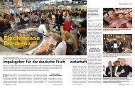 Impulsgeber für die deutsche Fisch wirtschaft