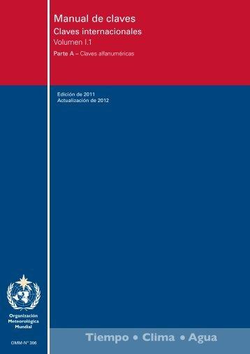 Manual de claves - E-Library - WMO