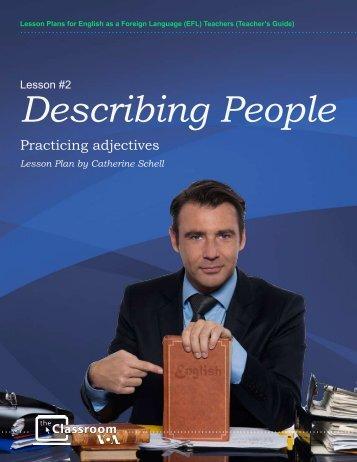 Describing People - Voice of America