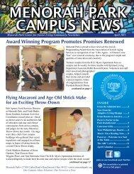 menorah park campus news - Menorah Park Center For Senior Living
