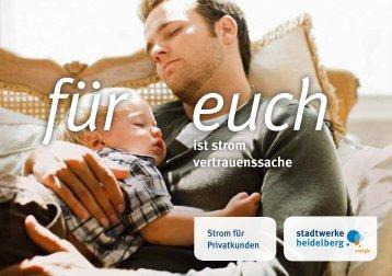 ist strom vertrauenssache - Heidelberger Versorgungs