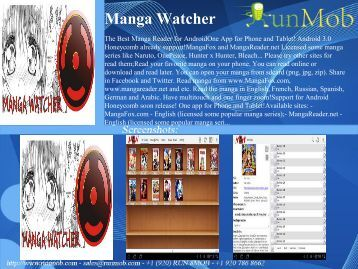 Manga Watcher - RunMob
