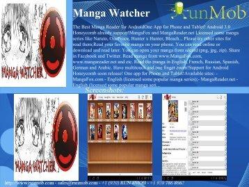 Manga Watcher - RunMob