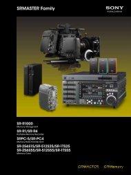 Sony SRMASTER Family.pdf - Lemac