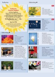 Textkarten Sommer-Angebot 2- 2010