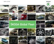 Å KODA Global Fleet - Skoda Auto