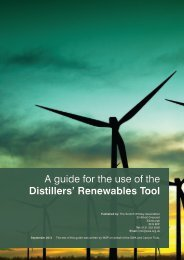 A guide for the use of the Distillers' Renewables Tool