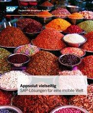 Appsolut vielseitig SAP-Lösungen für eine mobile ... - Mobile Business