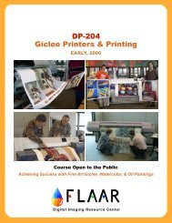DP-204 Giclee Printers & Printing - Digital Photography