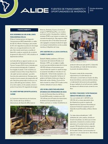 fuentes de financiamiento y oportunidades de inversión - Alide