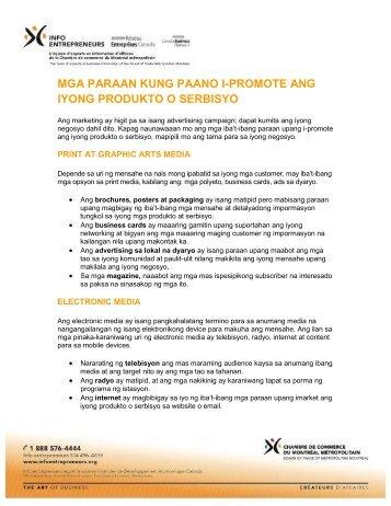 mga paraan kung paano i-promote ang iyong produkto o serbisyo