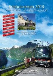 Erlebnisreisen 2013 - Blitz-Reisen HomePage