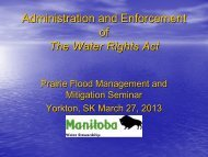 Administration and Enforcement of The Water Rights Act