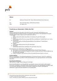 Vedlegg: Notat 2 fra revisor PwC - Sykehuset Telemark