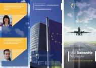 EASA Traineeship Programme - European Aviation Safety Agency