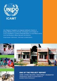 Chapter – 7 Potential Areas for Expansion of The ... - UNIDO-ICAMT