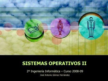 SISTEMAS OPERATIVOS II
