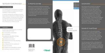 à propos de heel diagnostic traitement chiropratique signes et ...