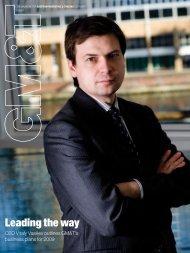 GM&T Magazine Issue 1 - Gazprom Marketing & Trading
