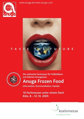 Anuga Frozen Food - Agripress
