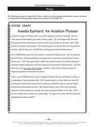 ROUGH DRAFT Amelia Earhart